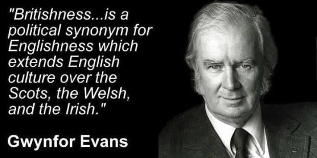 Gwynfor Evans - Britishness